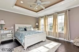 Custom tray ceiling, Large WIC
