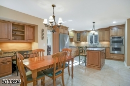 Renovated in 2005, this kitchen is a classic! Enjoy the desk/work station.