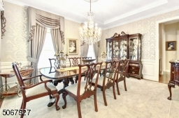The formal dining room is perfect for hosting your favorite event.