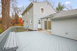 Not only does the deck and trees add vibrant color and set the tone for the curated landscape around the house, deck and backyard, it also offers ample privacy as you spend your evenings under the sky. Newly Refreshed