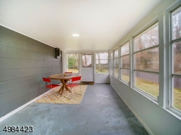 Screened Porch and Entry to House