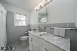 First floor updated hall bath