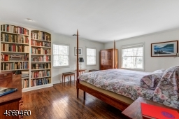 Built in bookcase and access to Sitting Room