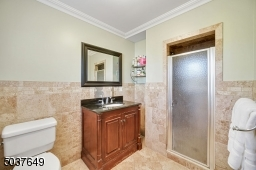 En Suite Master Bath with stall shower