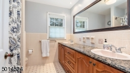 Double Sink Vanity with Granite Counter
