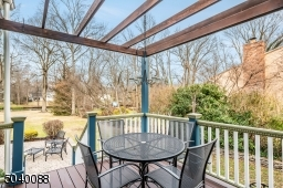 Pergola, leads to patio, view of river