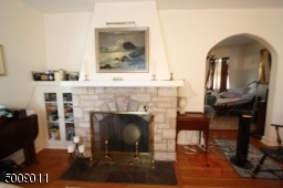 W/ Wood Burning Fireplace