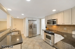 The kitchen is situated just off of the dining room, great for entertaining.