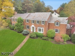 Stately brick colonial in the heart of Summit.