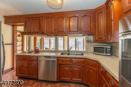 Lots of cabinet and counter space and newer stainless appliances