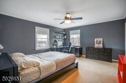 1 of 4 bedrooms on the 2nd floor.  Notice how generous in size this room is.