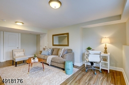 Just steps away from the mail level offers a quiet retreat, or room for gatherings and entertainment!