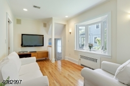 wood floors, easy access from the kitchen
