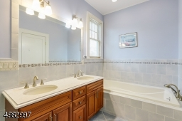 view with soaking tub
