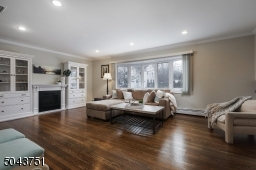 Recessed lighting and tons of natural light