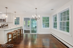 View to the enclosed sunroom