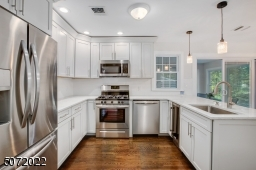 All new appliances, including beverage center