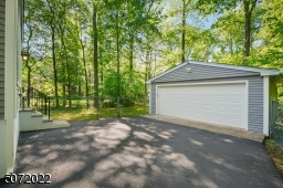 Extra-large two car garage with opener