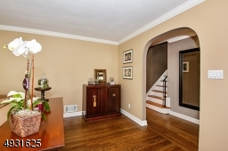 Archway from the Living Room to the Entrance Hall