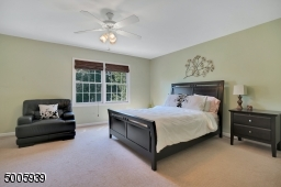 Another large comfortable bedroom. This one faces the back of the house with great views of the beautiful back yard.