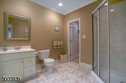 How great to have a full bathroom in the LL of your home!