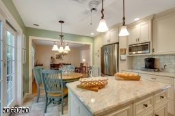 GRANITE COUNTERS, STAINLESS STEEL APPLIANCES
