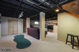 Rec Rm with Exercise area, golf practice area, entertainment area
