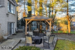 Outside you can host guests and take in the peaceful surroundings as you relax under the new gazebo