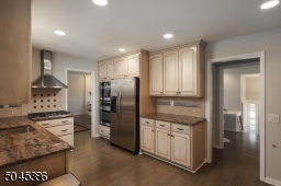 Kitchen features granite cabinets updated stainless steel appliances: