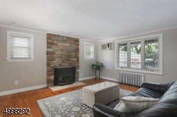 Fireplace with gas insert