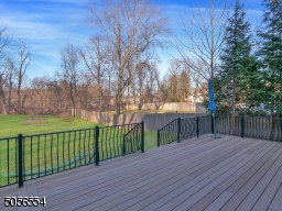 Private deck and spacious backyard