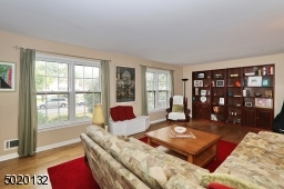 Sunlit spacious living room