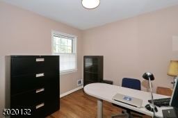 Bedroom being used as a home office
