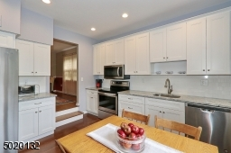 Plenty of cabinetry and counter space.