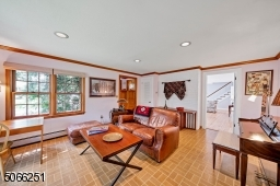Family room with separate entrance