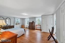 Master Bedroom with full bath and cedar closet.