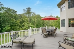 Overlooking your wooded private back yard.