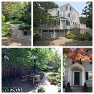 Views of the yard in the summer - beautiful landscaping