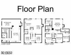 Layout of home & floor plans