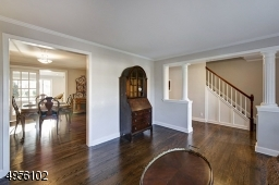 This spacious room opens to Dining Room and Entry hall. Total interior has been newly painted.