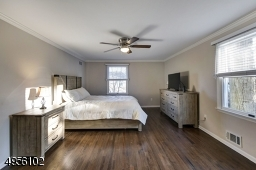 Master size bedroom with large walk in closet and Full bath access.