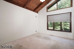 High ceilings, large closets, overlooking the backyard.