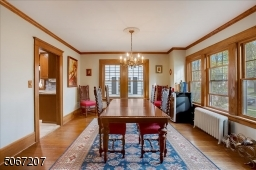 Large dining room, great for entertaining during the holidays or for more formal meals.