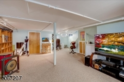 Great room can be used for a variety of purposes.