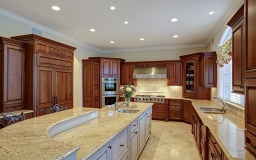 Subzero, abundance of cabinet spaces, recessed lights thruout