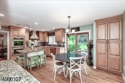 Custom Kitchen, hardwood floors, granite counter top