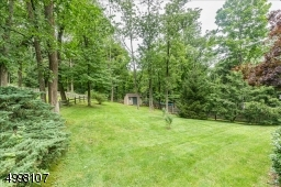 Large backyard perfect for gatherings and entertaining