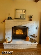 Family room with cozy fire place