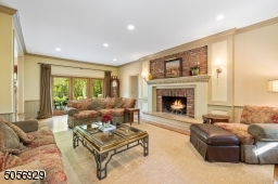 A nice sized room with 10 ft ceilings that has been made to feel warm and cozy with its beautiful wood burning fireplace with Tennessee stone hearth.