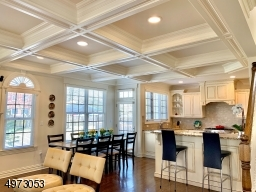 detail coffered ceiling